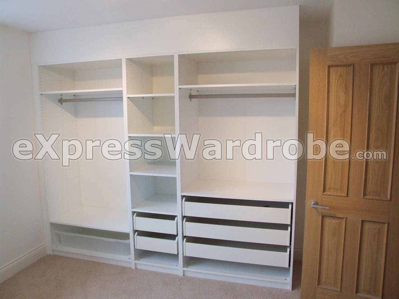 Cheap Fitted Wardrobes | Fitted Bedrooms | Fitted Bedroom within Wardrobes Cheap (Image 7 of 15)