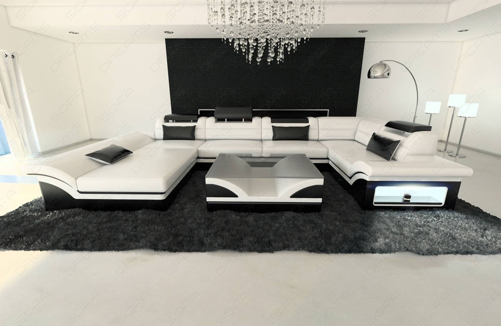 Cheap Leather Sofas. Divani Casa Modern Bonded Leather Sofa Set Inside  Black And White Sofas