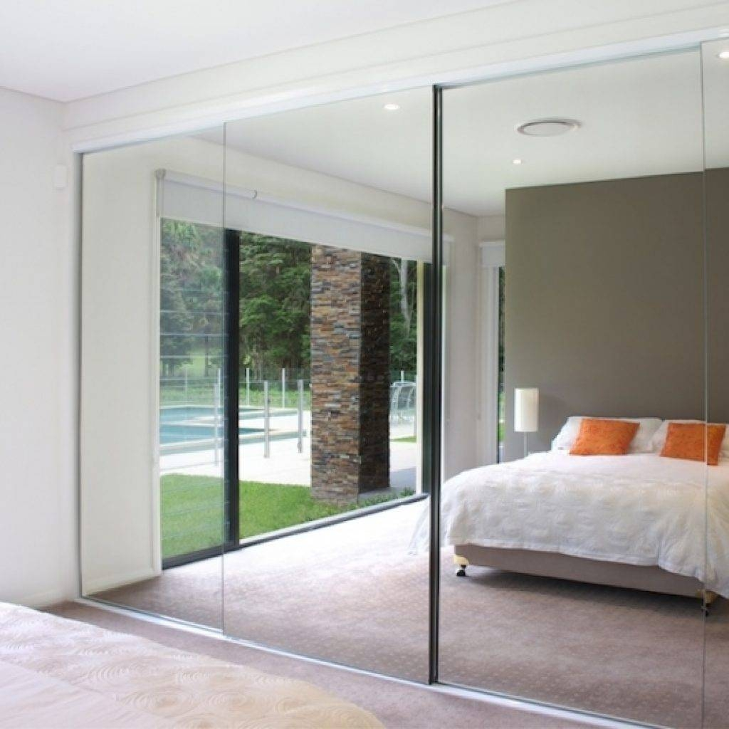 Cheap Mirrored Wardrobes Trend Door. Sliding Mirror Door Home pertaining to Cheap Mirrored Wardrobes (Image 2 of 15)