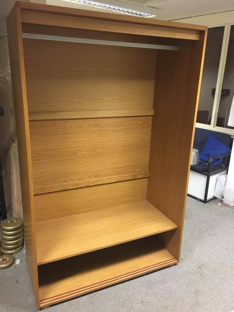 Cheap Oak Double Wardrobe Today Only Rrp£895 | In Dukinfield within Cheap Double Wardrobes (Image 4 of 15)