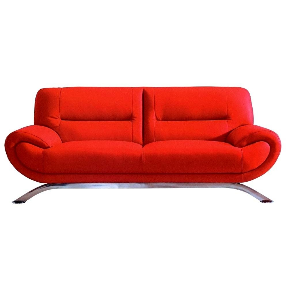 Cheap Red Sofas With Cheap Red Sofas (View 5 of 30)