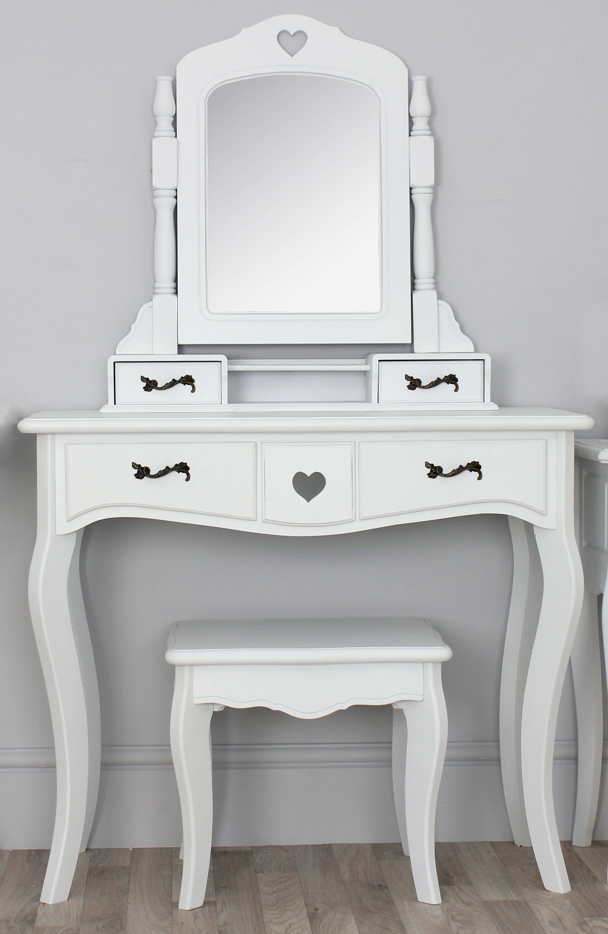 Cheap Vanity Table With Mirror And Lights | Creative Vanity Decoration throughout Small Table Mirrors (Image 4 of 25)