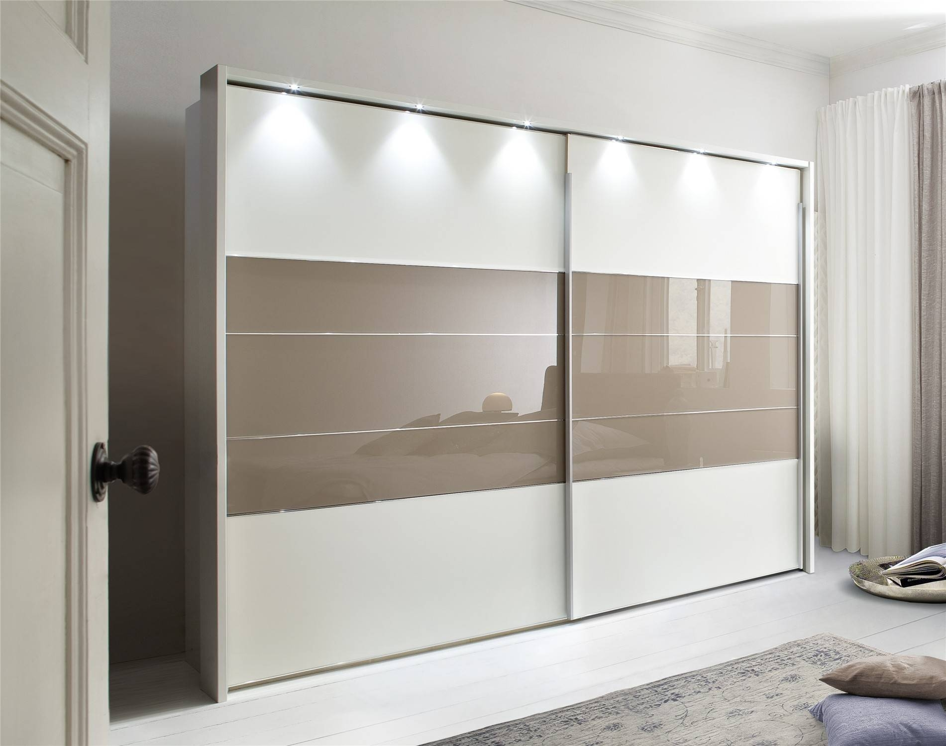 Cheap Wardrobes With Sliding Doors | Hallway Furniture Ideas with Cheap Double Wardrobes (Image 5 of 15)