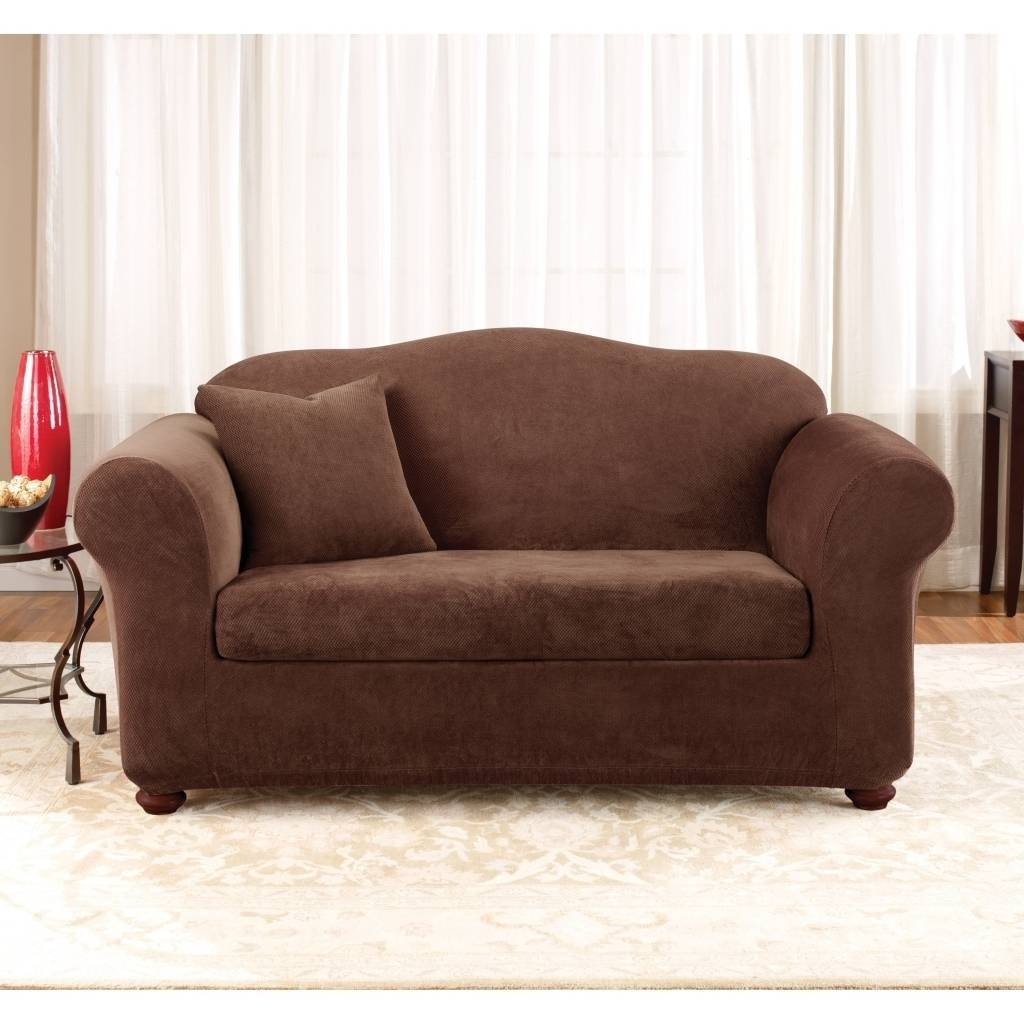 Check Out All These Sure Fit 2 Piece Sofa Covers For Your pertaining to 2 Piece Sofa Covers (Image 7 of 30)