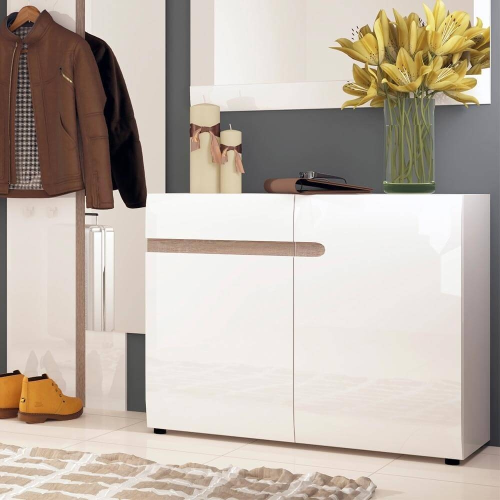 Chelsea White Gloss Sideboards | Sideboards At Zurleys Uk in White Gloss Sideboards (Image 6 of 30)