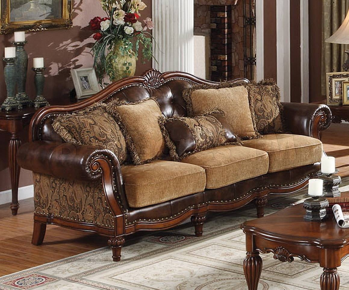 Chenille Sofa Set in Traditional Sofas For Sale (Image 2 of 30)