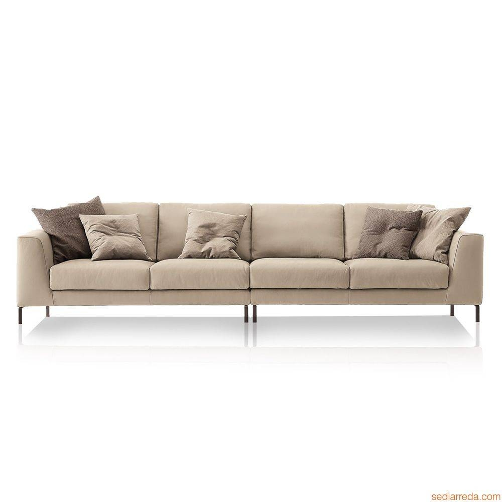 Chennai Maxi: Design Sofa With 4 Or 6 Seater, Available With for Four Seater Sofas (Image 5 of 30)