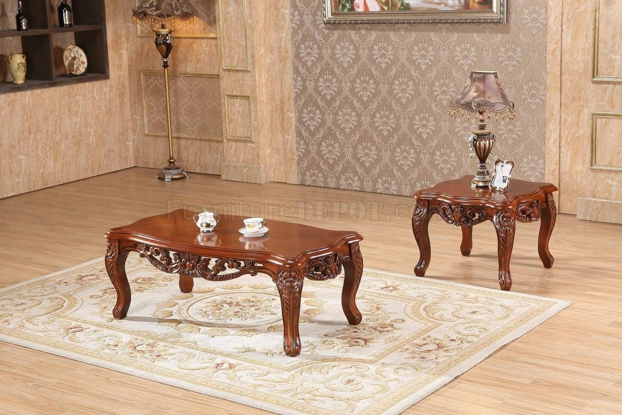 Cherry Coffee Table And End Tables / Coffee Tables / Thippo with Verona Coffee Tables (Image 3 of 30)