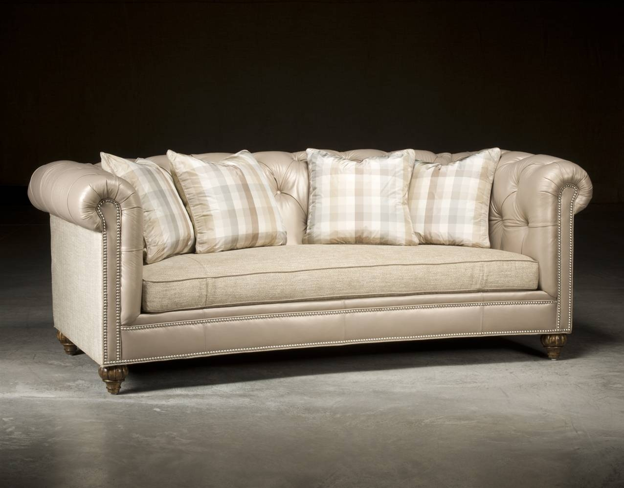 Chesterfield Tufted Sofa, High End Upholstered Furniture throughout High End Sofa (Image 4 of 30)