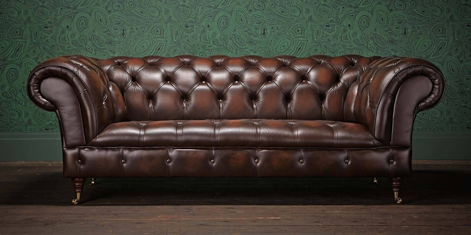 Chesterfields Of England | The Original Chesterfield Company intended for Leather Chesterfield Sofas (Image 10 of 30)