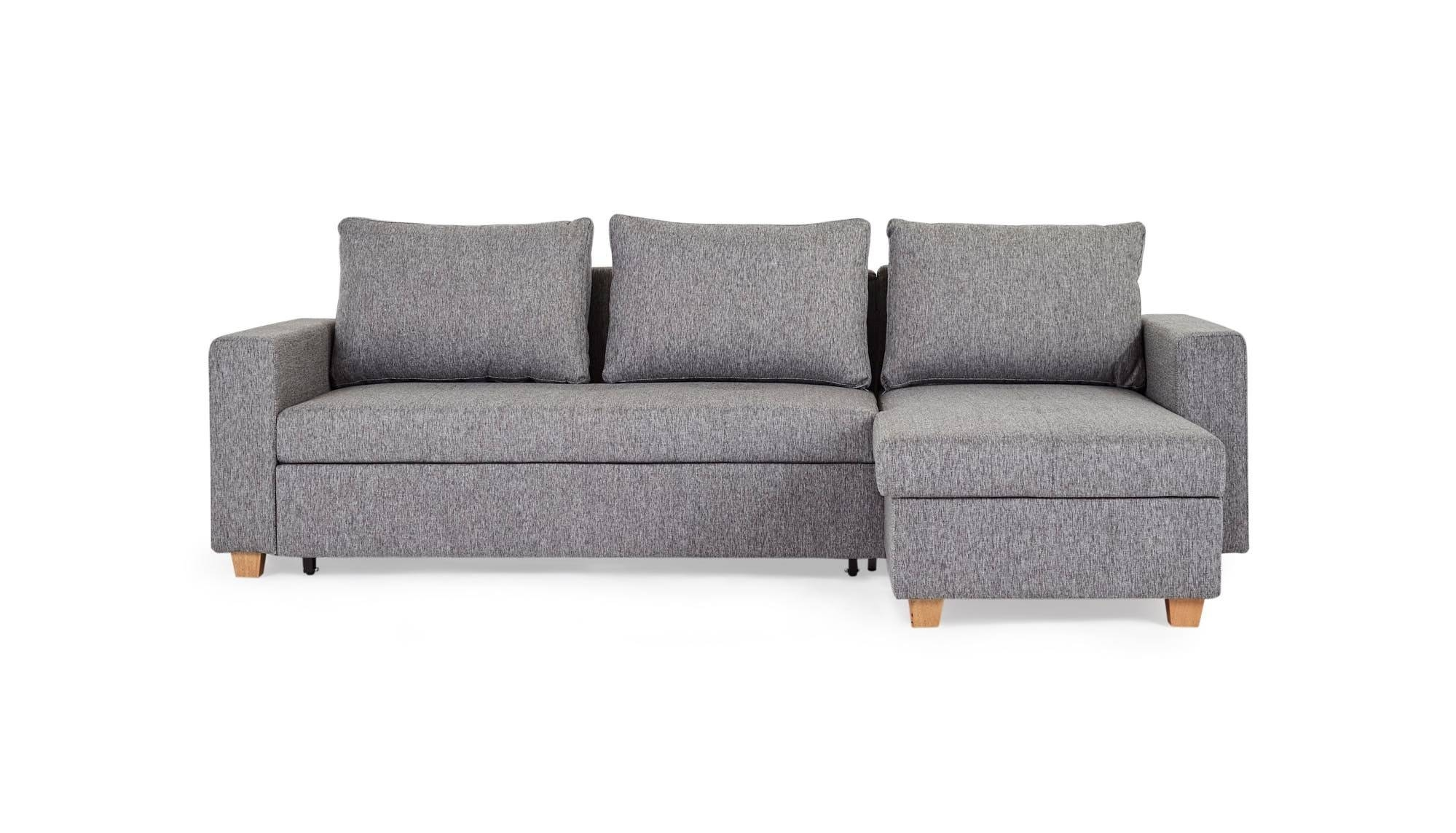 Chicago Storage - Corner Sofa Bed | Loungelovers inside Corner Couch Bed (Image 8 of 30)