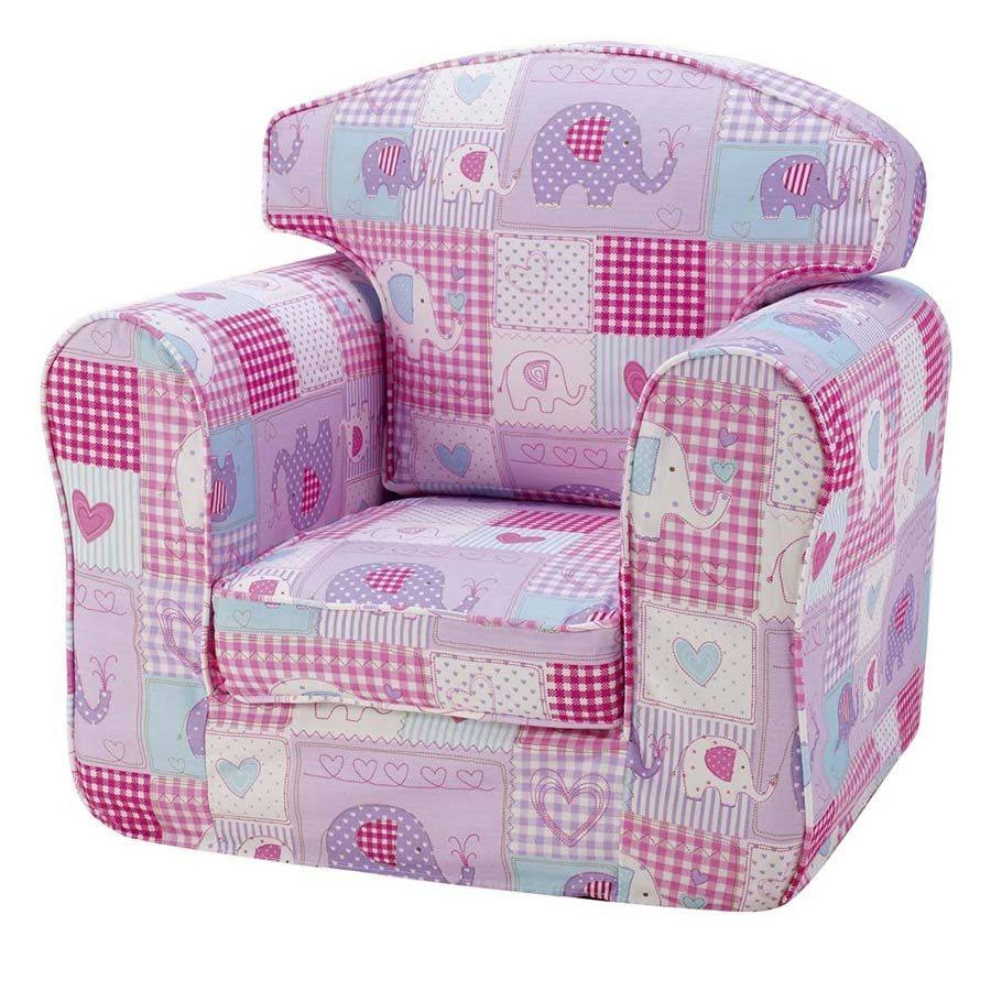 Children's Chair Single Sofa - Patchwork Elephants for Children Sofa Chairs (Image 5 of 30)