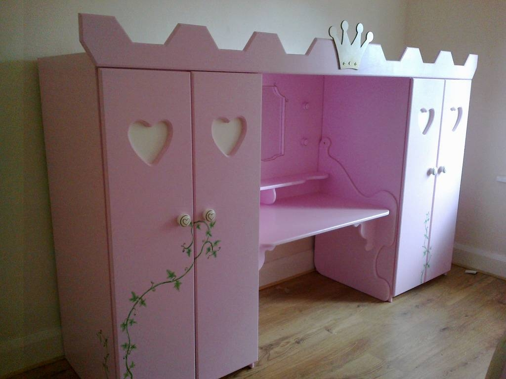 Childrens Dressing Table Princess Castle Wardrobe Ivy Deta… | Flickr inside The Princess Wardrobes (Image 3 of 15)