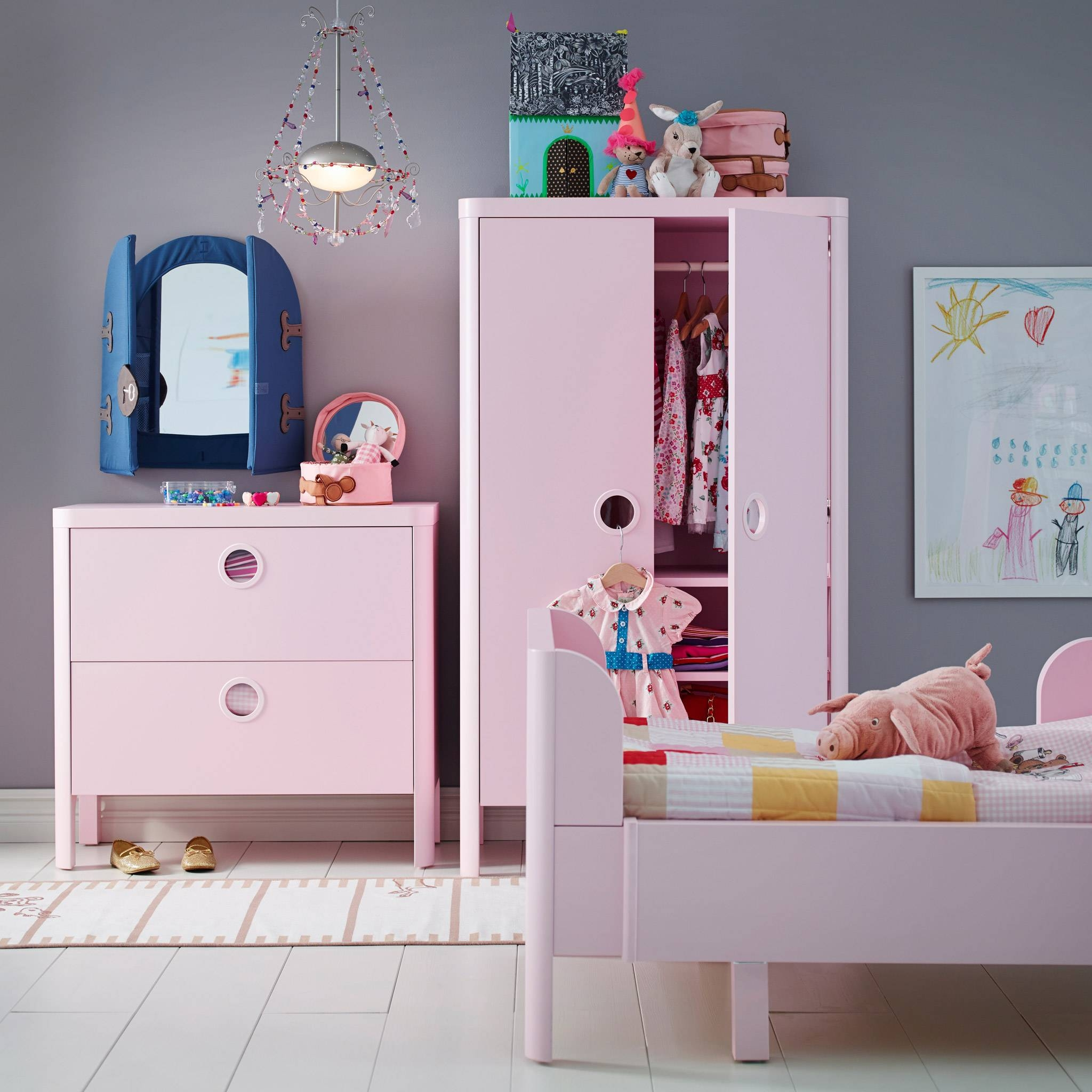 Childrens Furniture & Childrens Ideas | Ikea Ireland for Childrens Bedroom Wardrobes (Image 21 of 30)