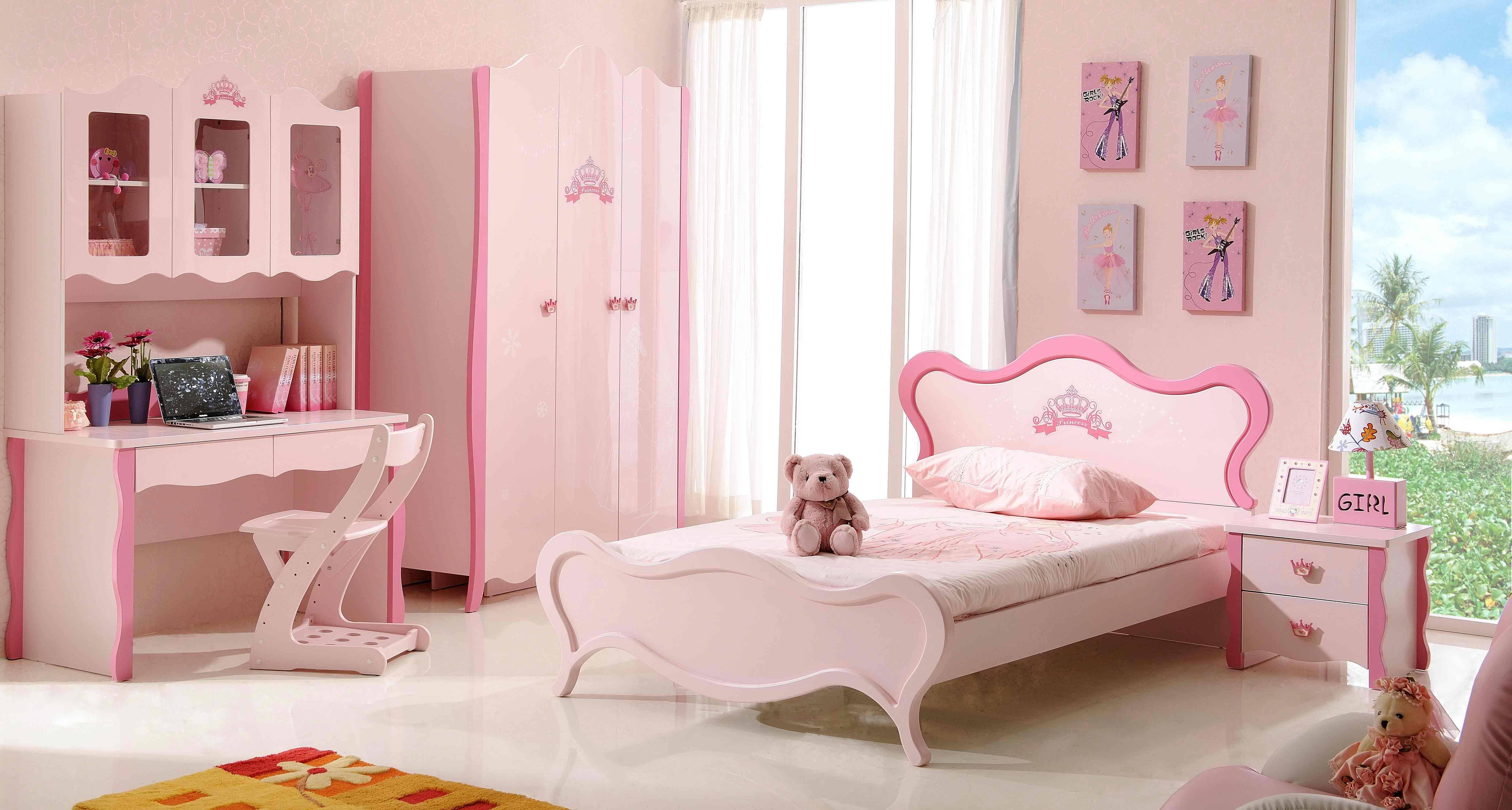 Childrens Pink Bedroom Furniture | Vivo Furniture throughout Childrens Pink Wardrobes (Image 10 of 30)