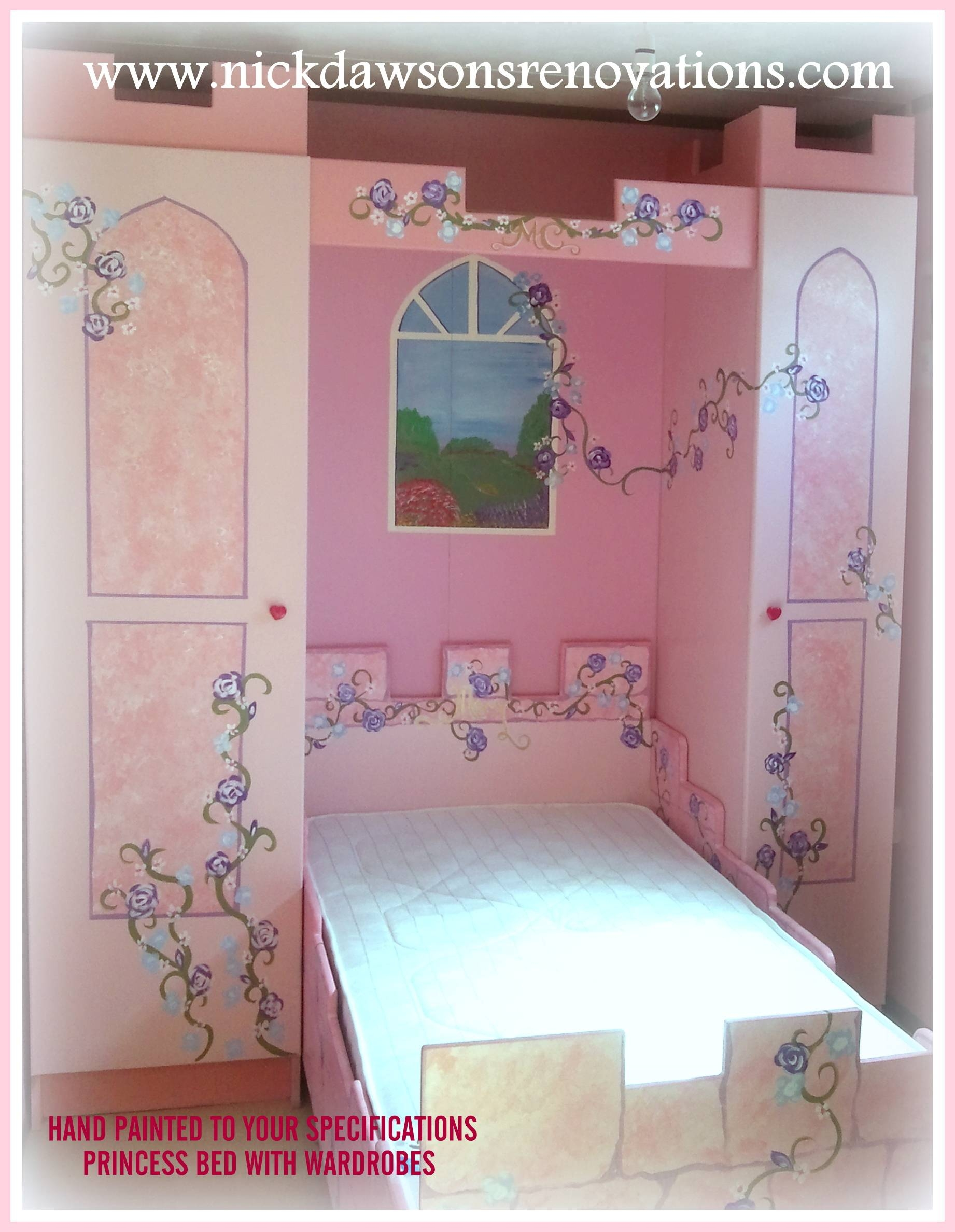 Childrens Storage Beds, Bespoke Childrens Beds with regard to Princess Wardrobes (Image 3 of 15)