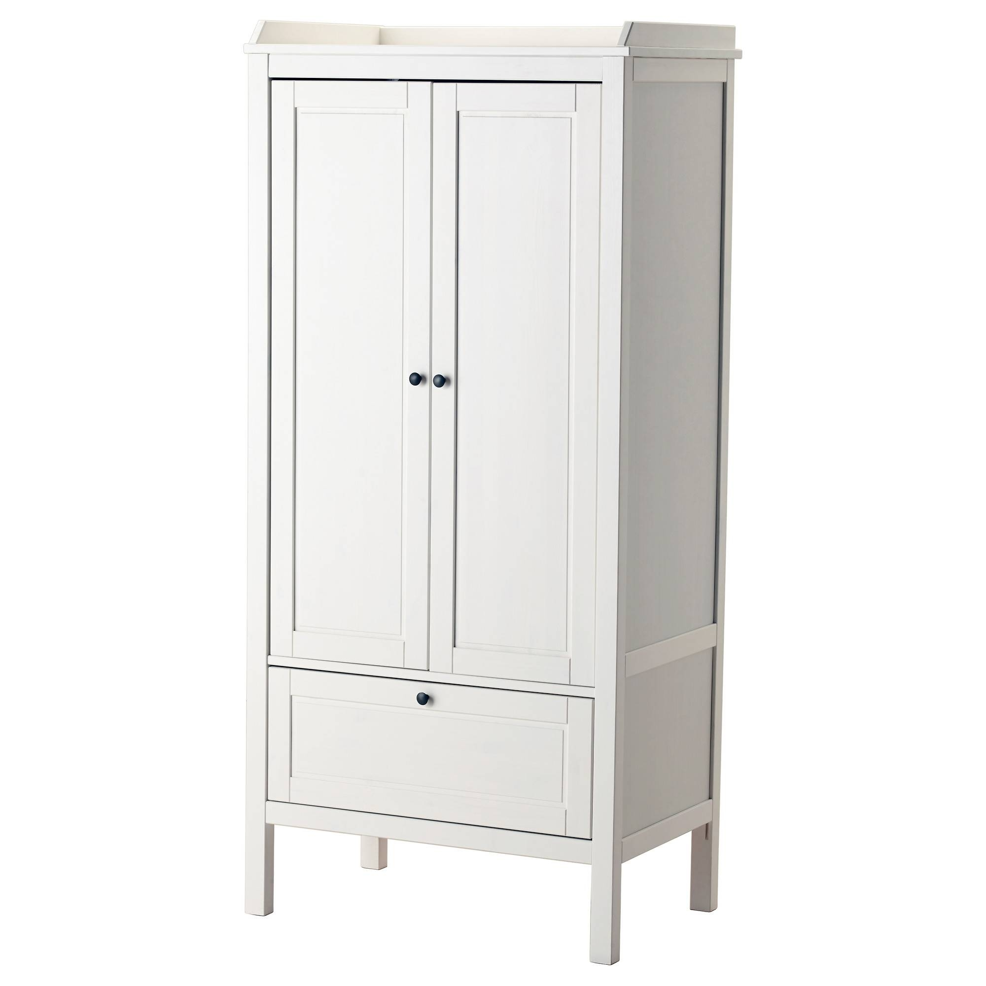 Children's Wardrobes - Nursery Wardrobes - Ikea pertaining to Single White Wardrobes With Drawers (Image 3 of 15)