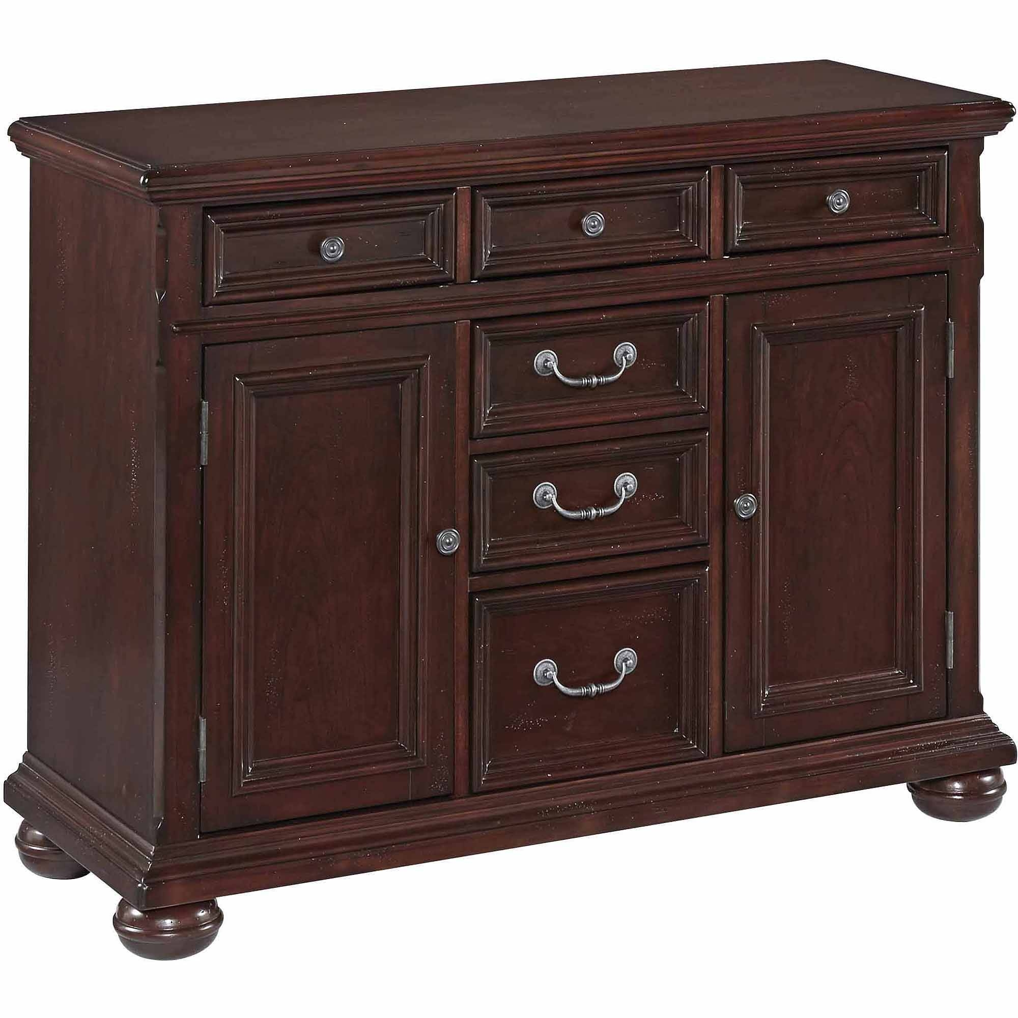 China Cabinet & Buffet Furniture : Kitchen & Dining Furniture with Dark Brown Sideboards (Image 7 of 30)