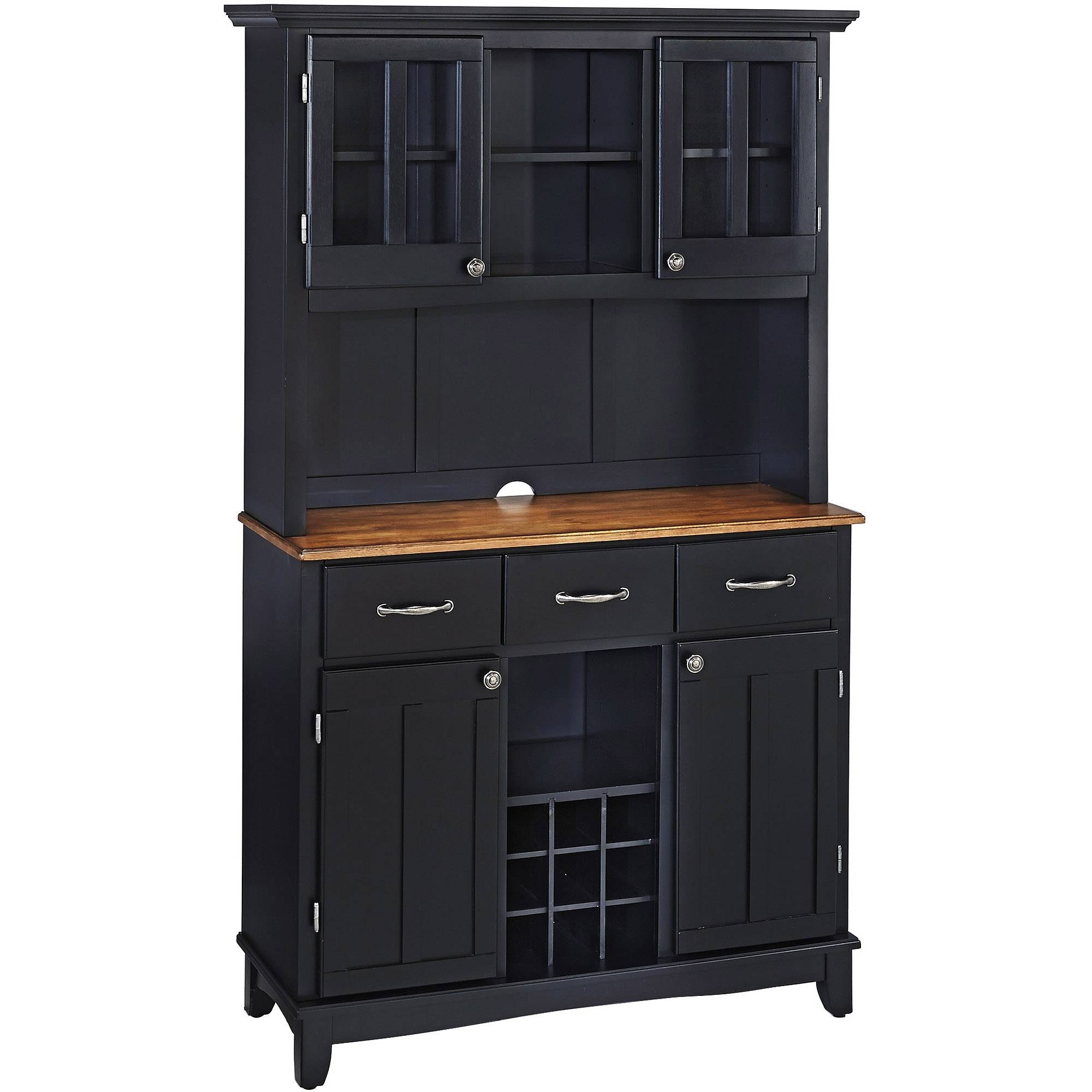 China Cabinets - Walmart within Small Black Sideboards (Image 7 of 30)