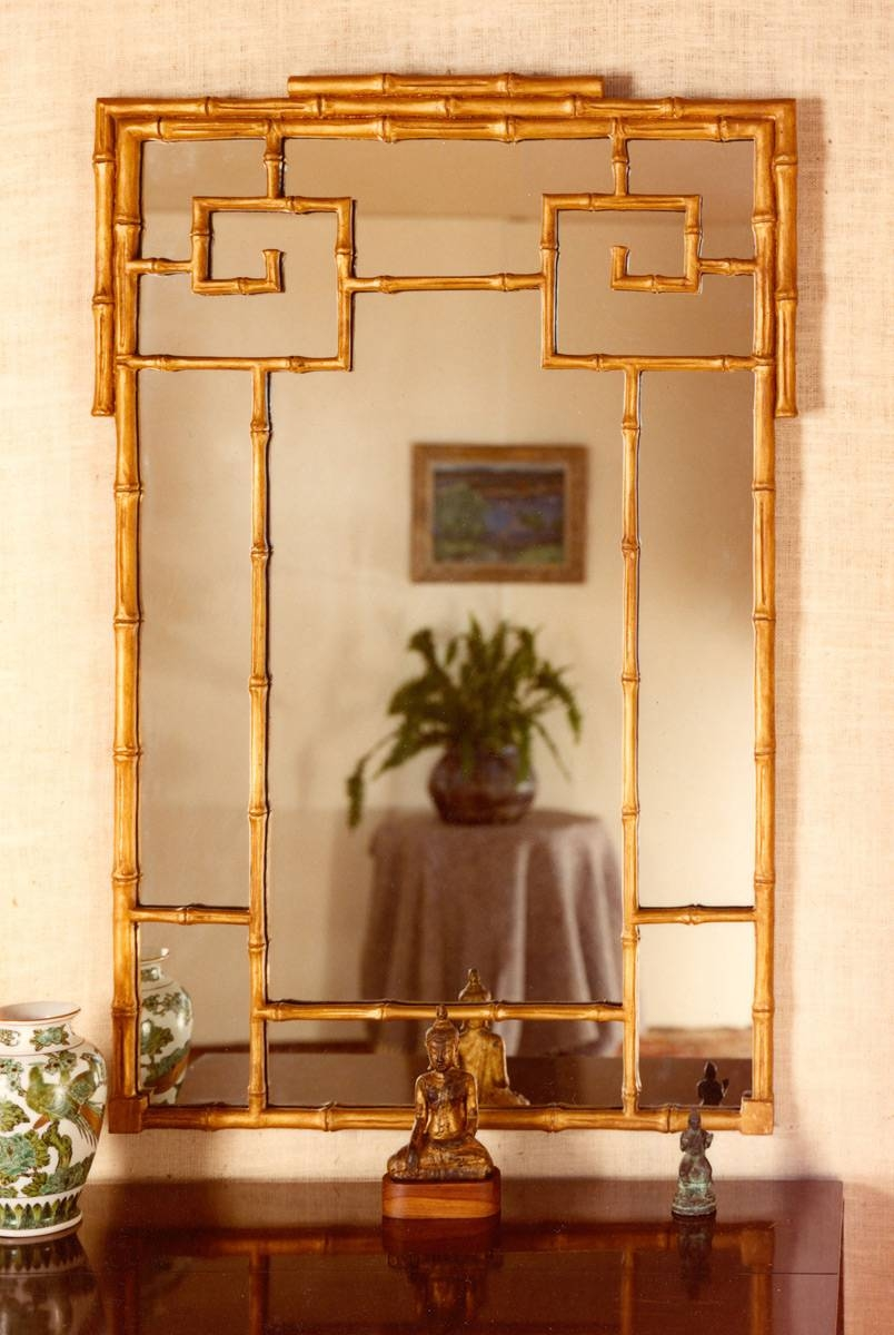 Chinese Bamboo Mirror | Carvers' Guild in Chinese Mirrors (Image 12 of 25)