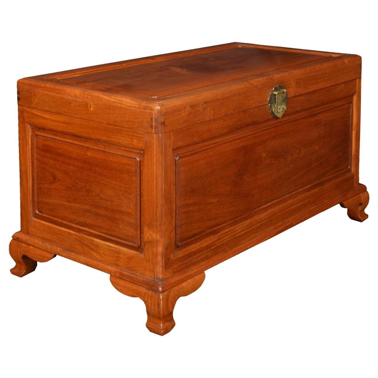 Chinese Export Camphor Wood Trunk Coffee Table For Sale At 1Stdibs within Trunk Coffee Tables (Image 5 of 30)