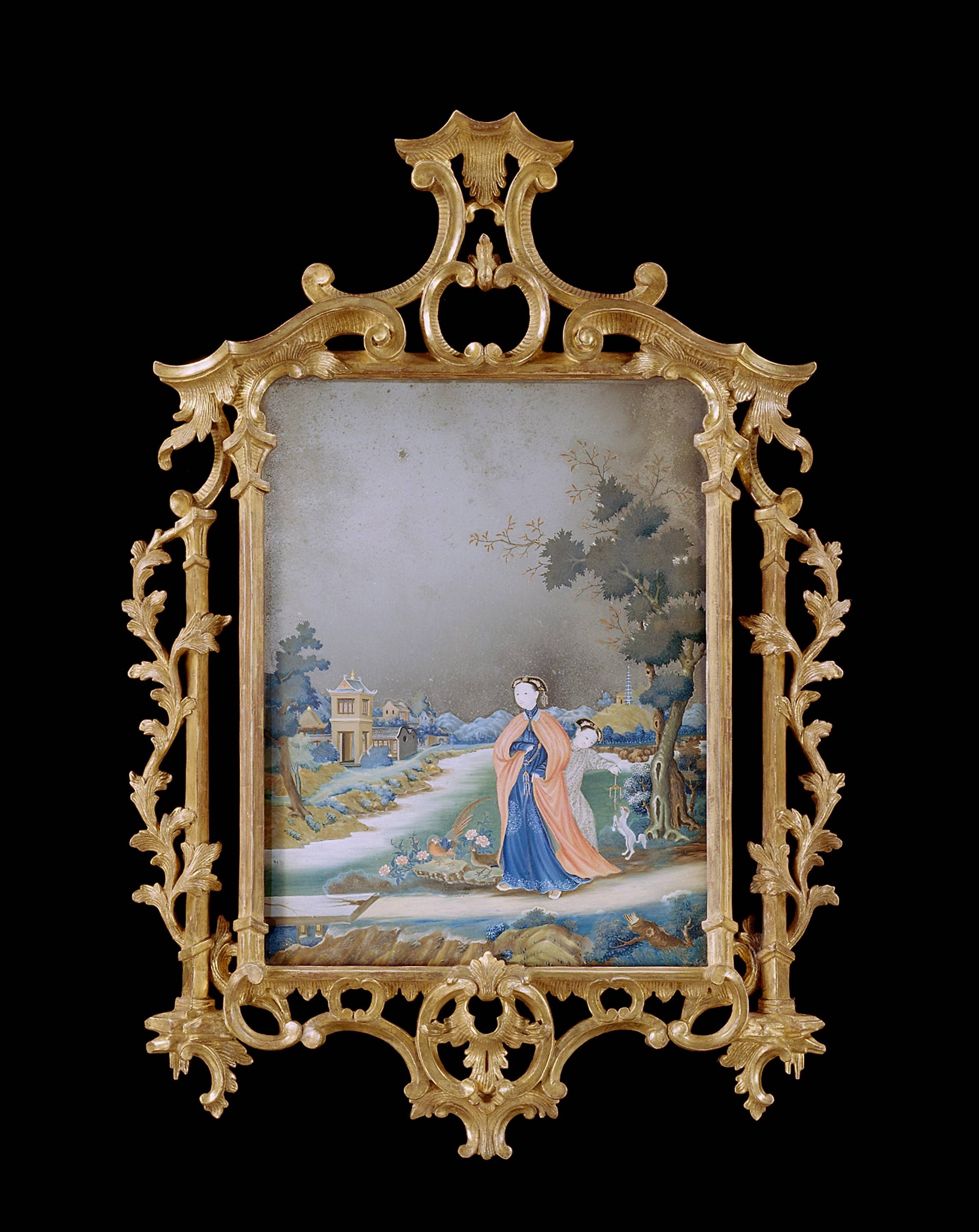 Chinese Paintings - The Uk's Premier Antiques Portal - Online with regard to Chinese Mirrors (Image 14 of 25)