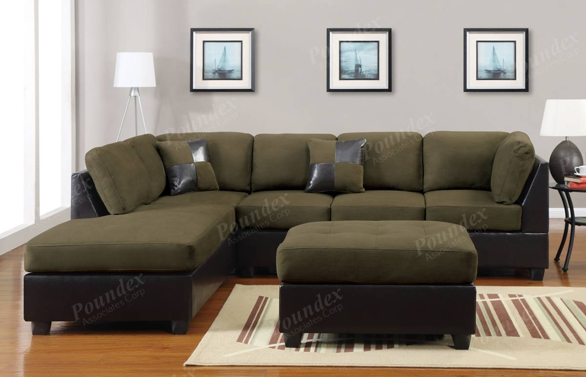 30 Photos Green Sectional Sofa