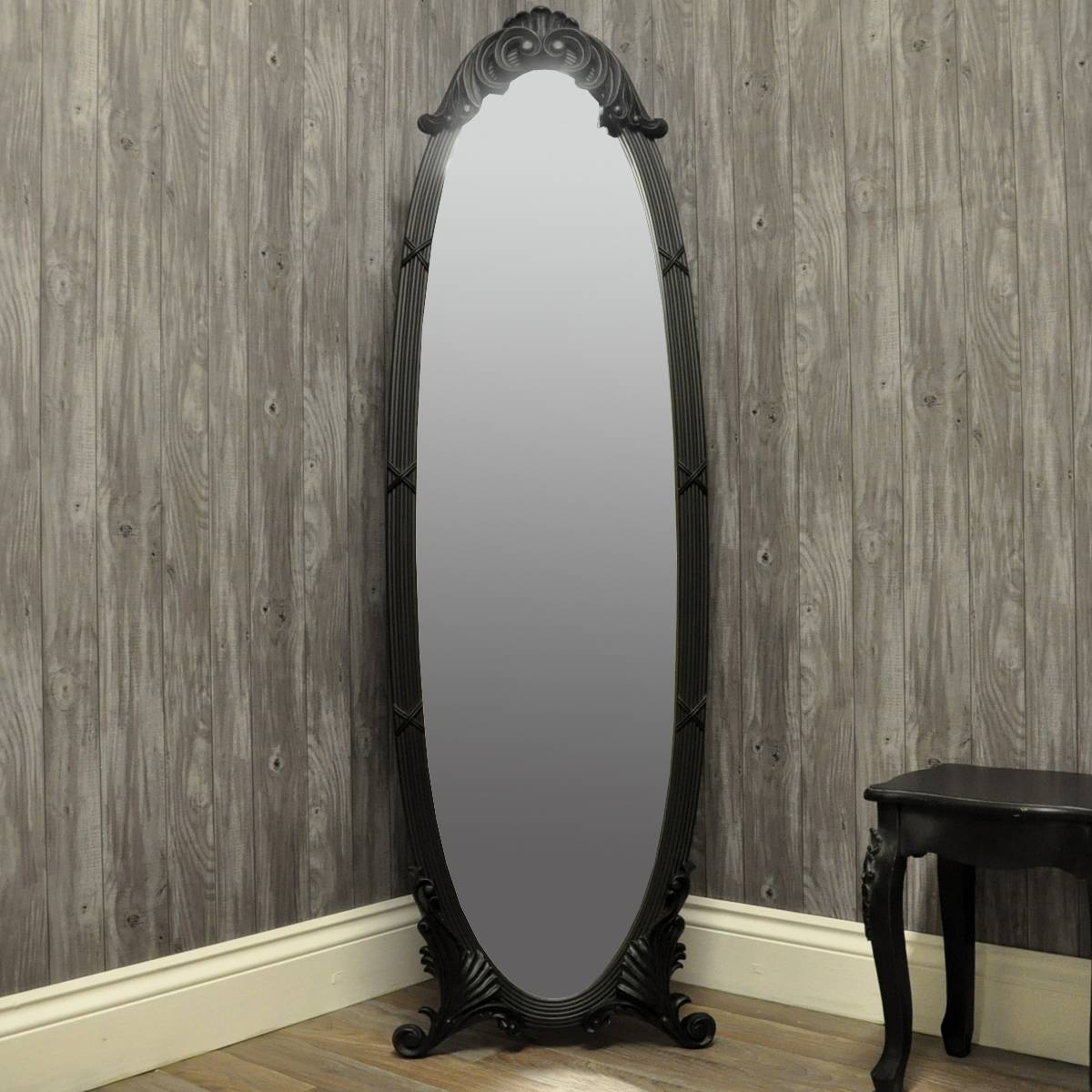 Choose From A Range Of Full Length Cheval Mirrors in French Full Length Mirrors (Image 2 of 25)