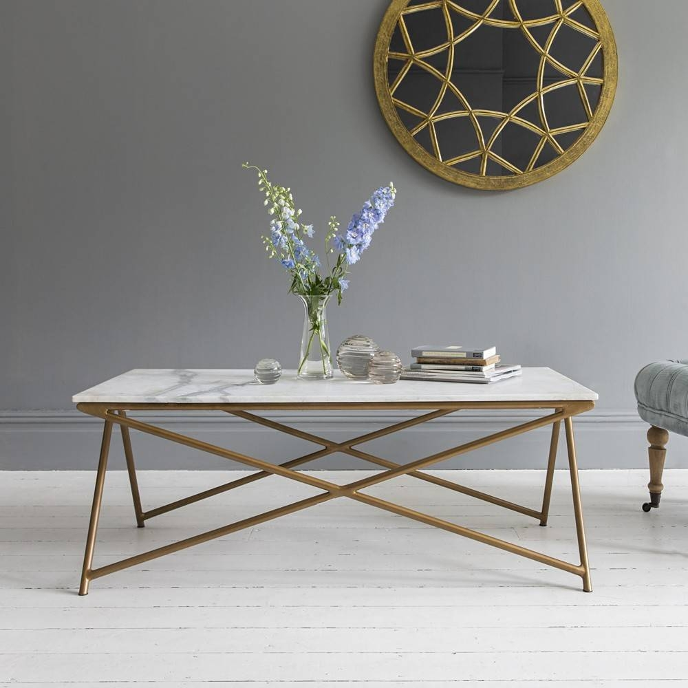 Choose The Best White Marble Coffee Table — The Home Redesign intended for Marble Coffee Tables (Image 9 of 30)
