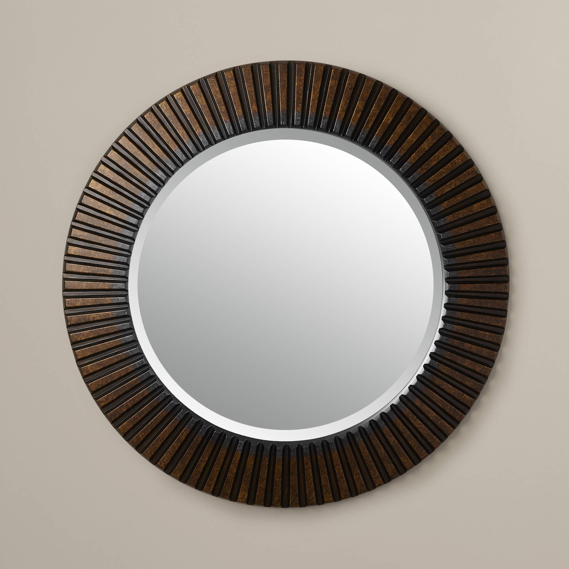 Choose The Elegant Decoration With Choose Round Wall Mirror throughout Gold Round Mirrors (Image 5 of 25)