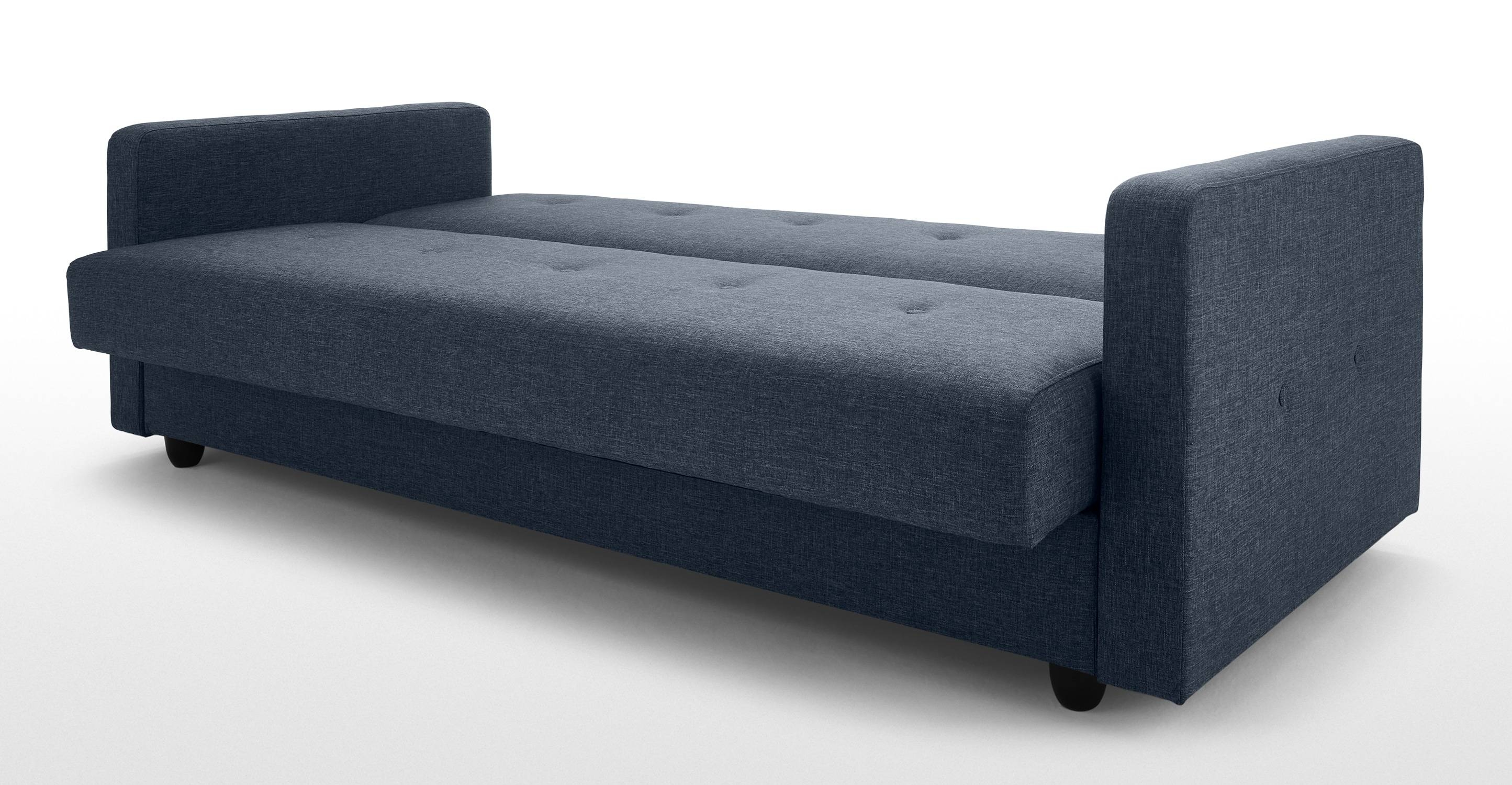 Chou Sofa Bed With Storage, Quartz Blue | Made with regard to Sofa Beds With Storages (Image 8 of 30)