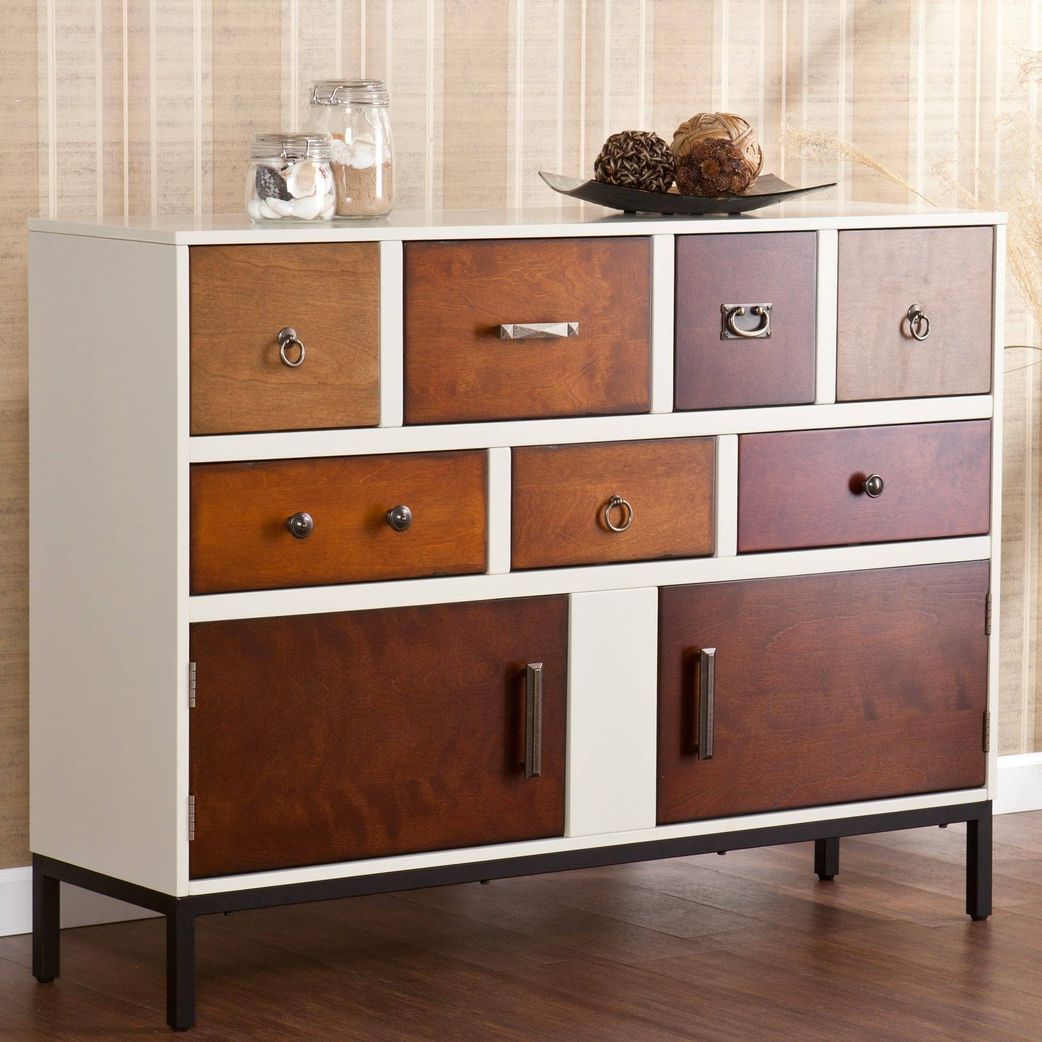 Christian Multi-Finish Dining Room Buffet - Free Shipping Today pertaining to Multi Drawer Sideboards (Image 12 of 30)