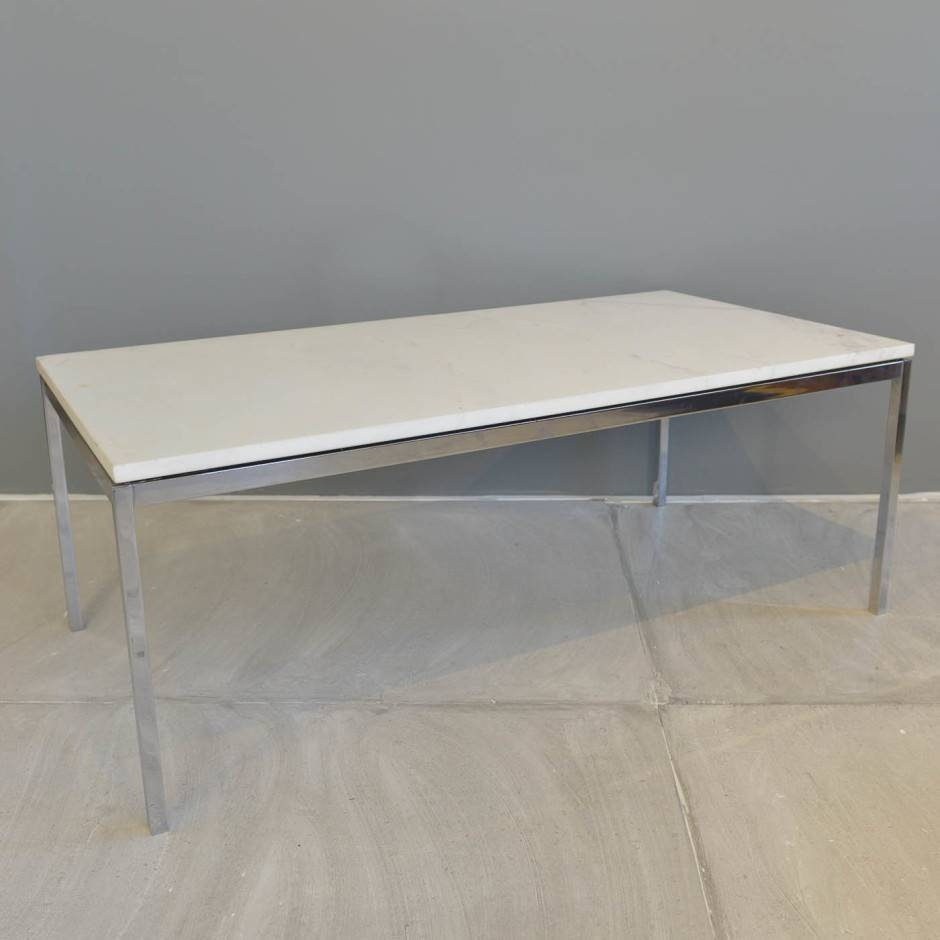 Chrome Coffee Tables / Coffee Tables / Thippo intended for White And Chrome Coffee Tables (Image 4 of 30)