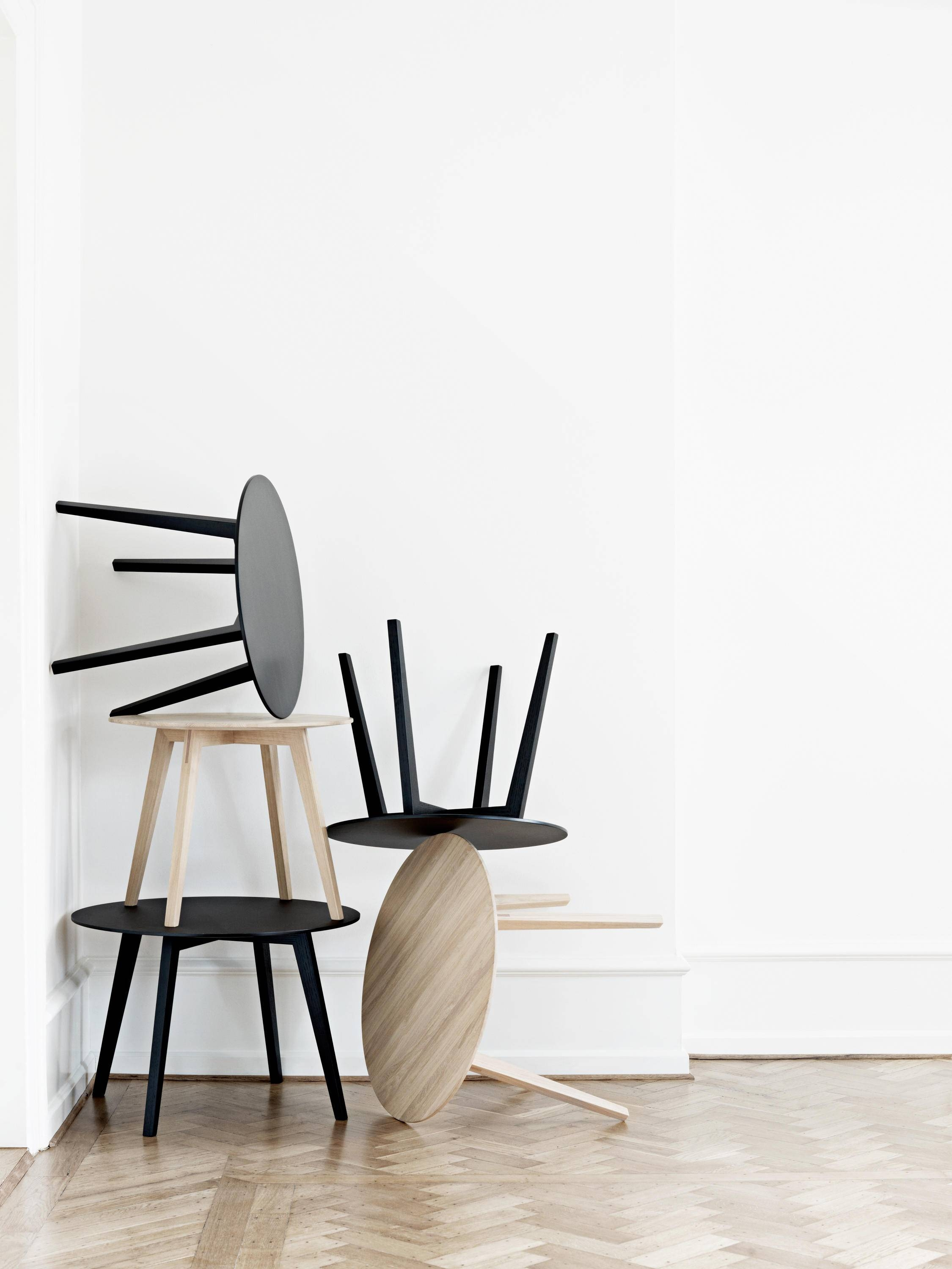 Circle Coffee Table - Side Tables From Getama Danmark | Architonic intended for Circle Coffee Tables (Image 4 of 30)