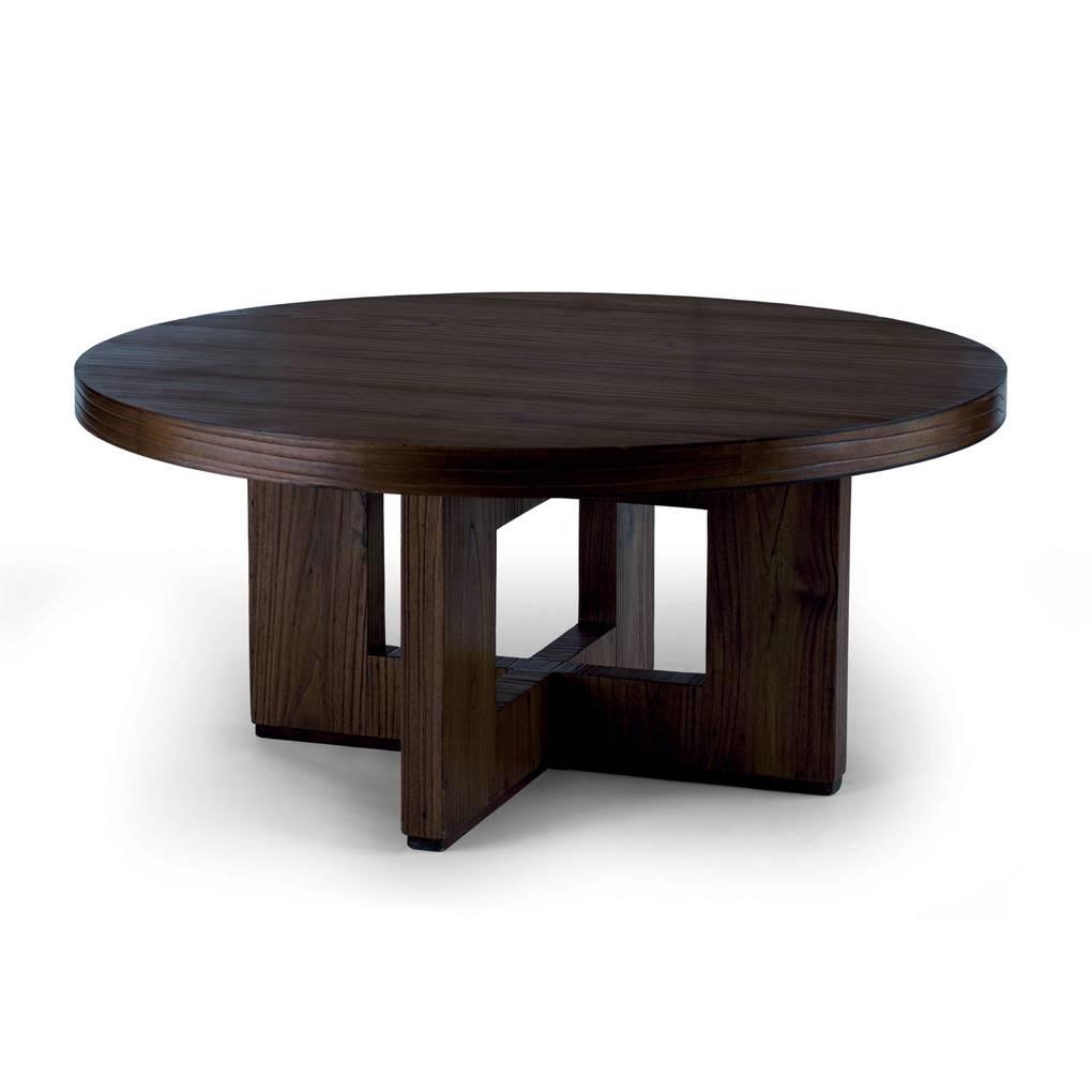 Circle Coffee Table White. White Round Coffee Table Modern intended for Circle Coffee Tables (Image 5 of 30)