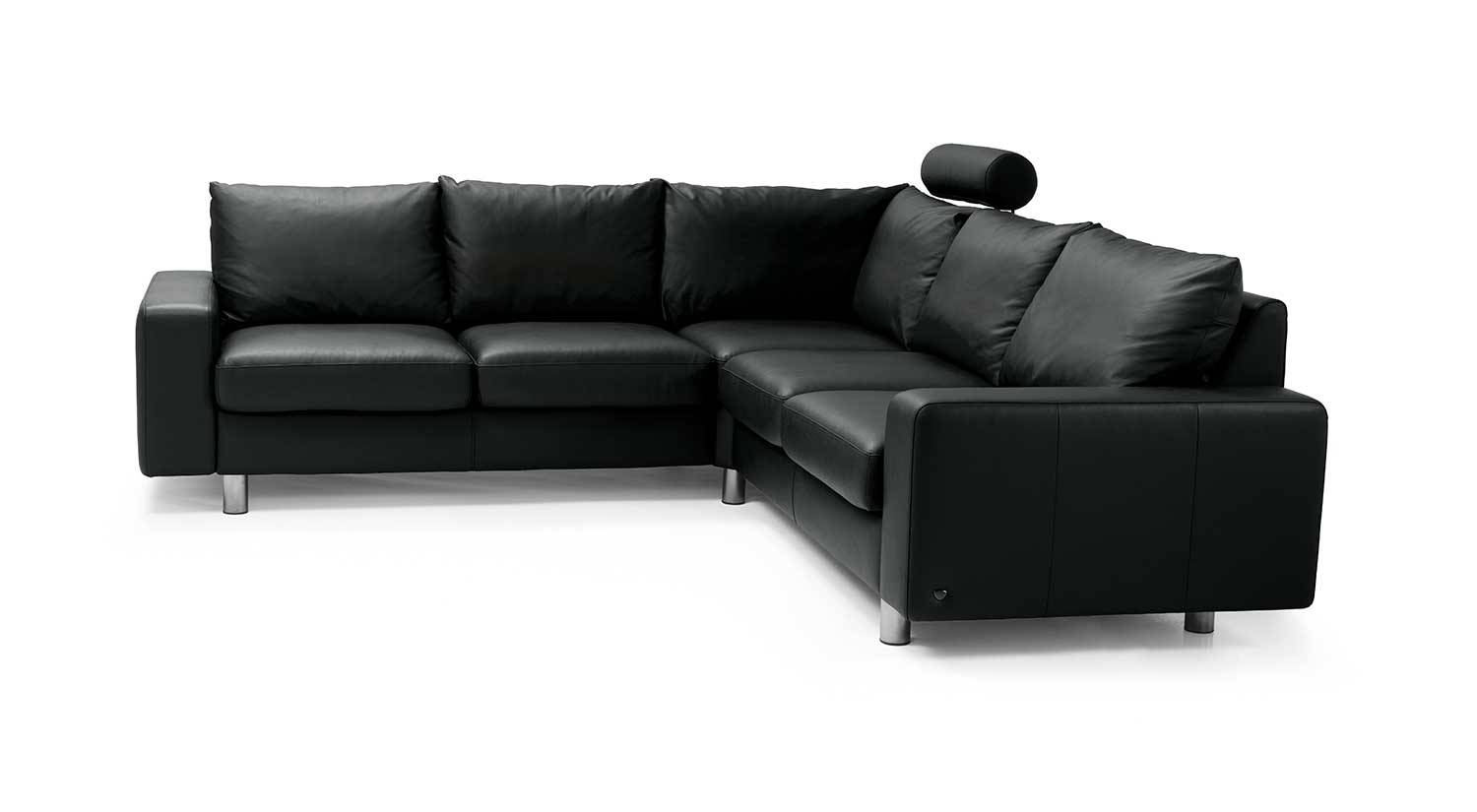 Circle Furniture - E200 Ekornes Sectional | Modern Sofas Ma for Ekornes Sectional Sofa (Image 2 of 30)