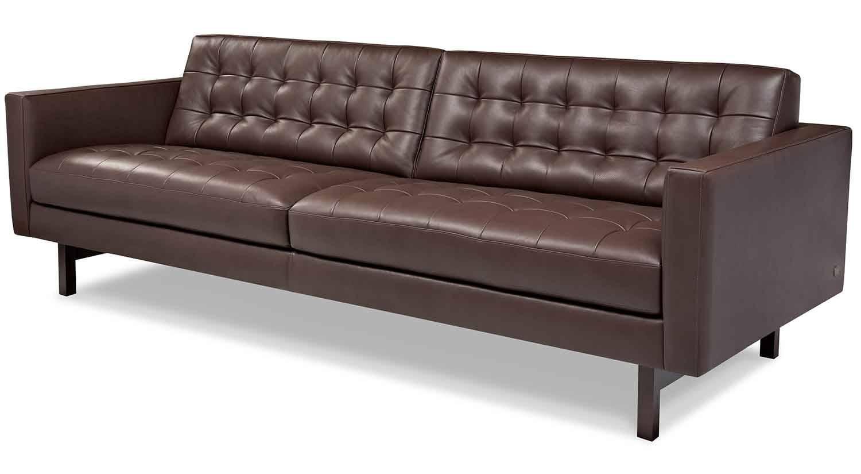 Circle Furniture - Parker Sofa | Designer Sofas Boston | Circle inside Circle Sofas (Image 5 of 25)