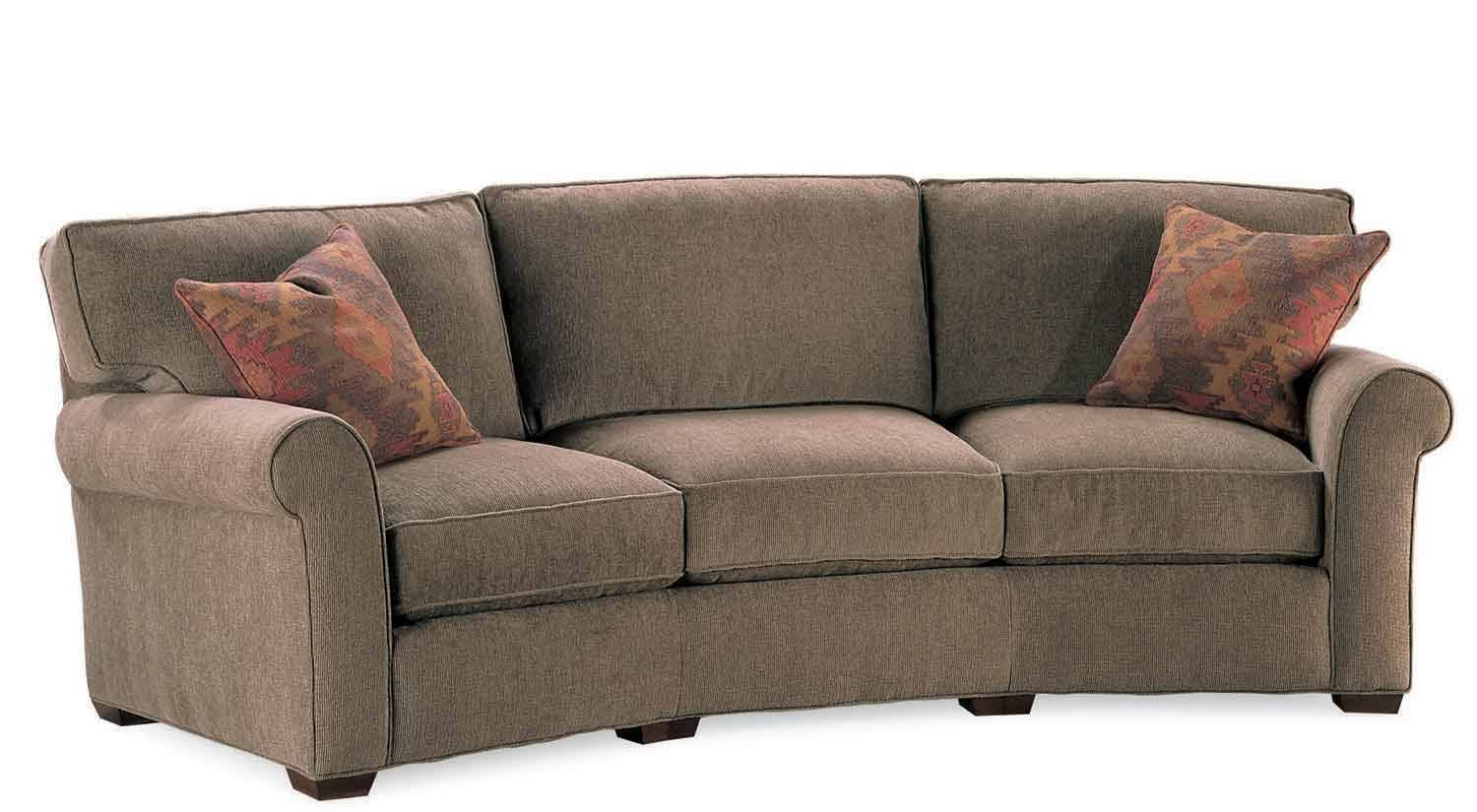 Circle Furniture - Taylor Wedge Sofa | Wedge Couches Ma | Circle intended for Circle Sofas (Image 7 of 25)