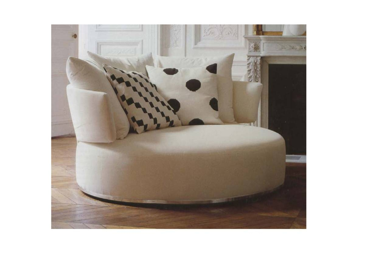 Circle Sofa Chair | Sofas Decoration with Round Sofa Chairs (Image 2 of 15)