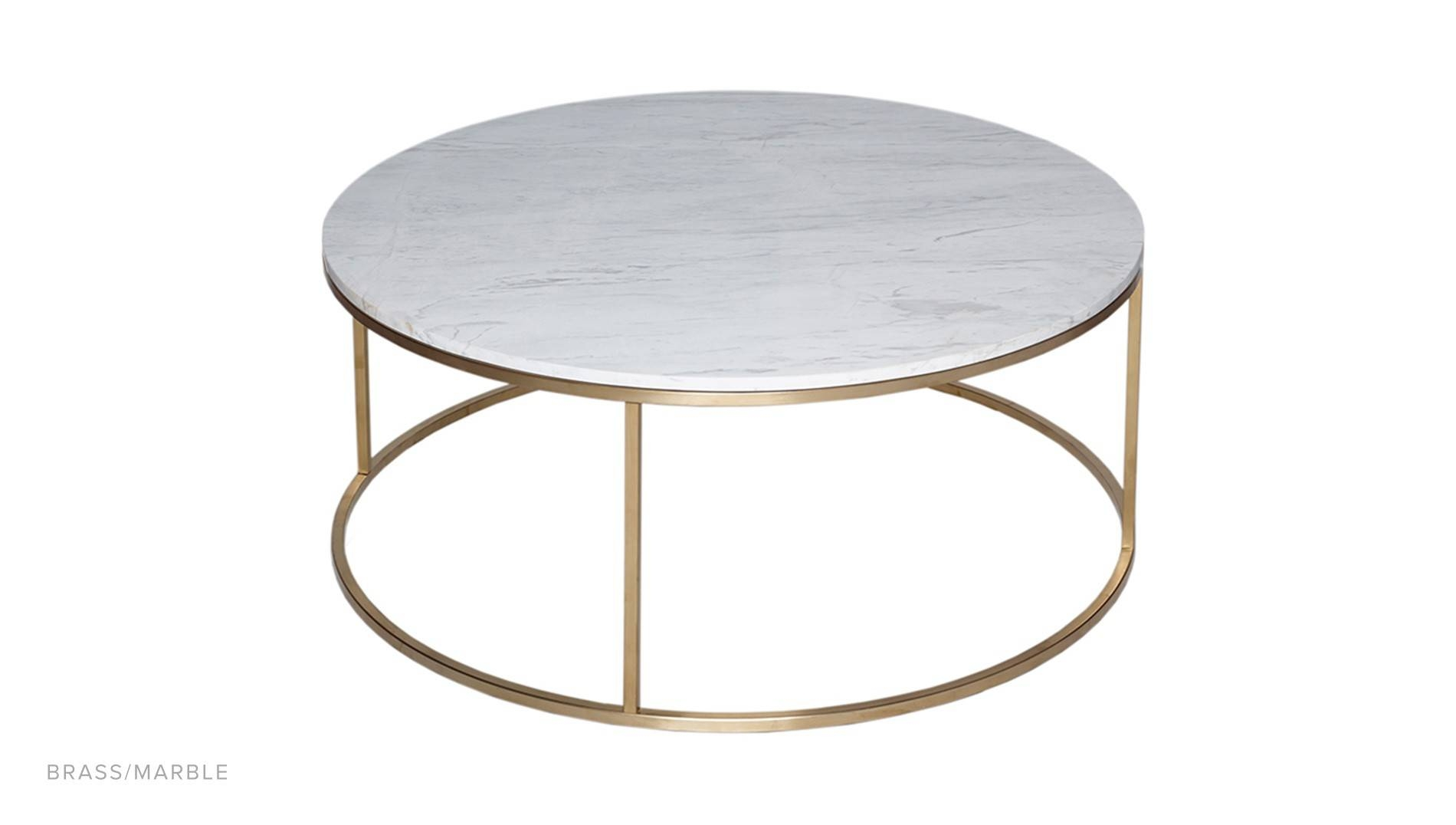 Circular Coffee Table - Luxdeco inside Marble Round Coffee Tables (Image 7 of 30)