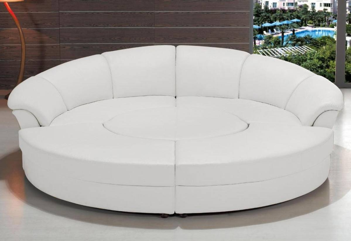 Circular Sectional Sofa Bed | Tehranmix Decoration throughout Circular Sectional Sofa (Image 2 of 30)