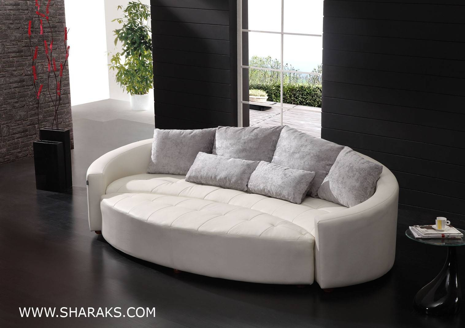 Circular Sofa Bed | Tehranmix Decoration in Semicircular Sofa (Image 3 of 30)