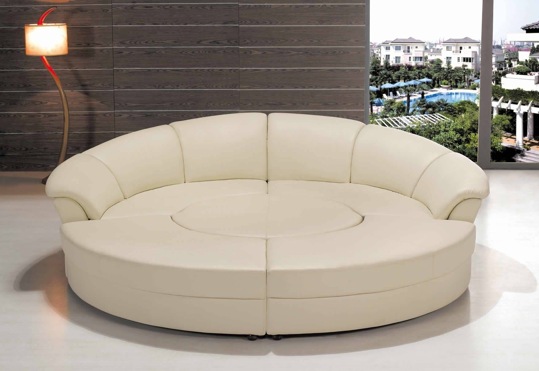 Circular Sofa Bed | Tehranmix Decoration pertaining to Round Sofas (Image 5 of 30)
