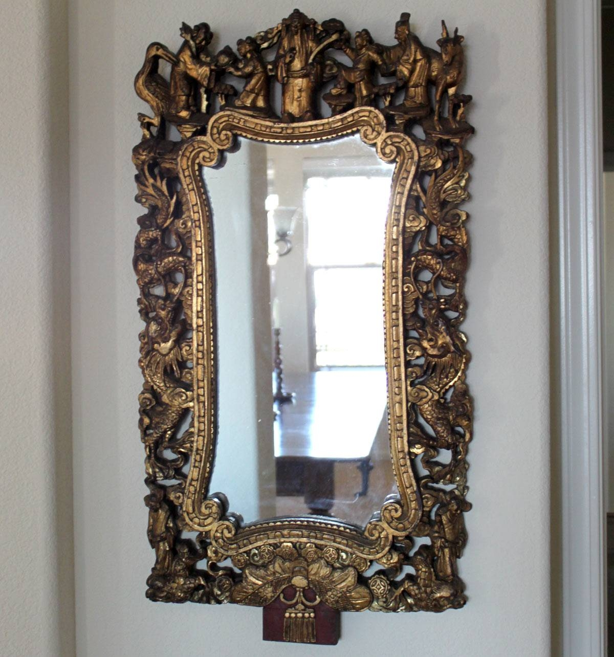 Classic Antique Mirrors Images - Reverse Search with regard to Chinese Mirrors (Image 15 of 25)