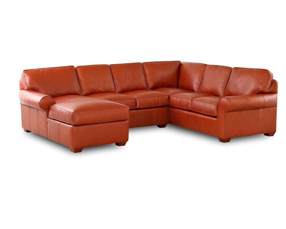 Classic Leather Sectionals American Made - Made In Usa within American Made Sectional Sofas (Image 10 of 30)