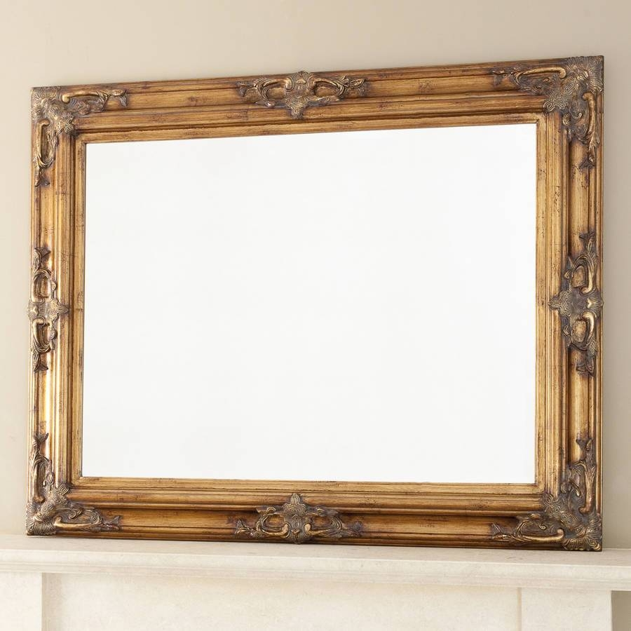 Featured Photo of Ornate Gold Mirrors