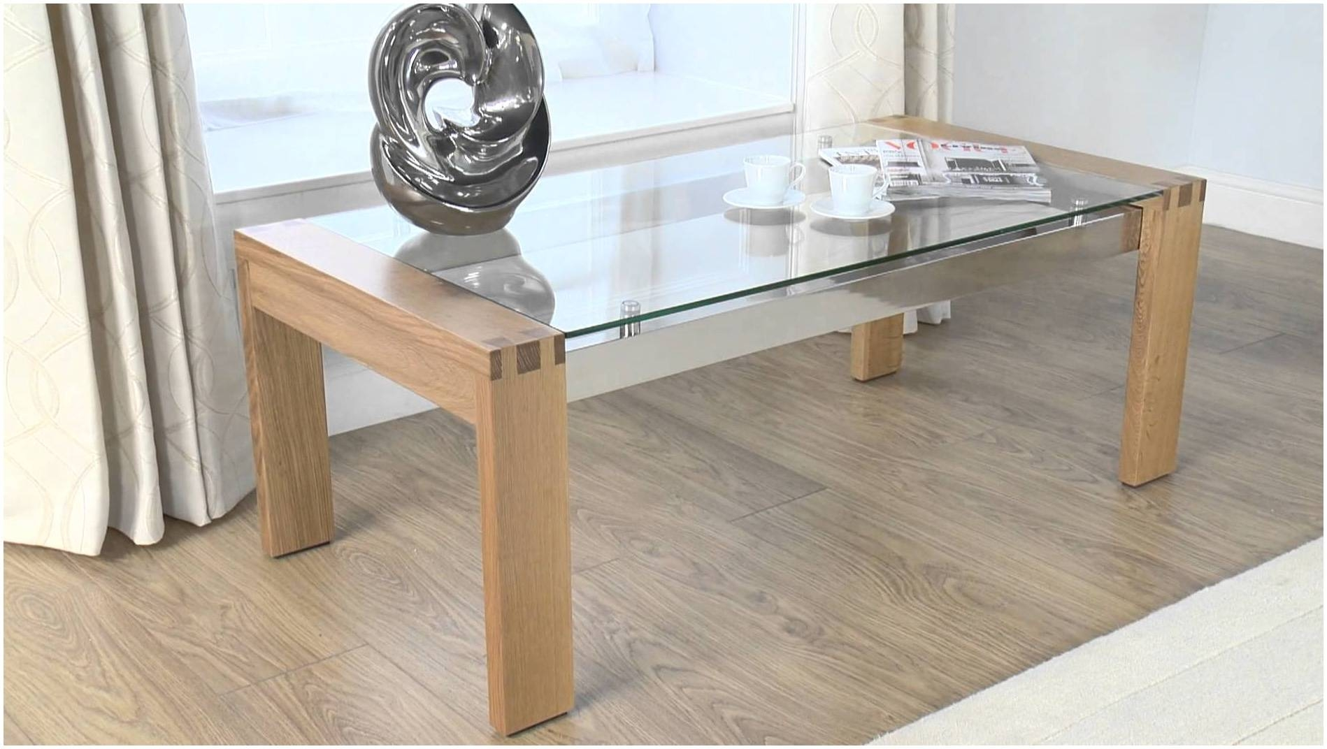Clear Glass Coffee Table Wood – Cocinacentral.co intended for Wooden And Glass Coffee Tables (Image 2 of 30)