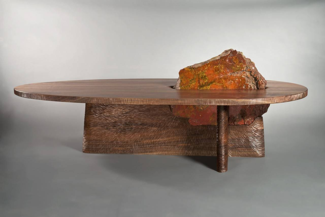 Cleft Coffee Table | Solid Wood Coffee Table - Seth Rolland intended for Solid Wood Coffee Tables (Image 3 of 30)