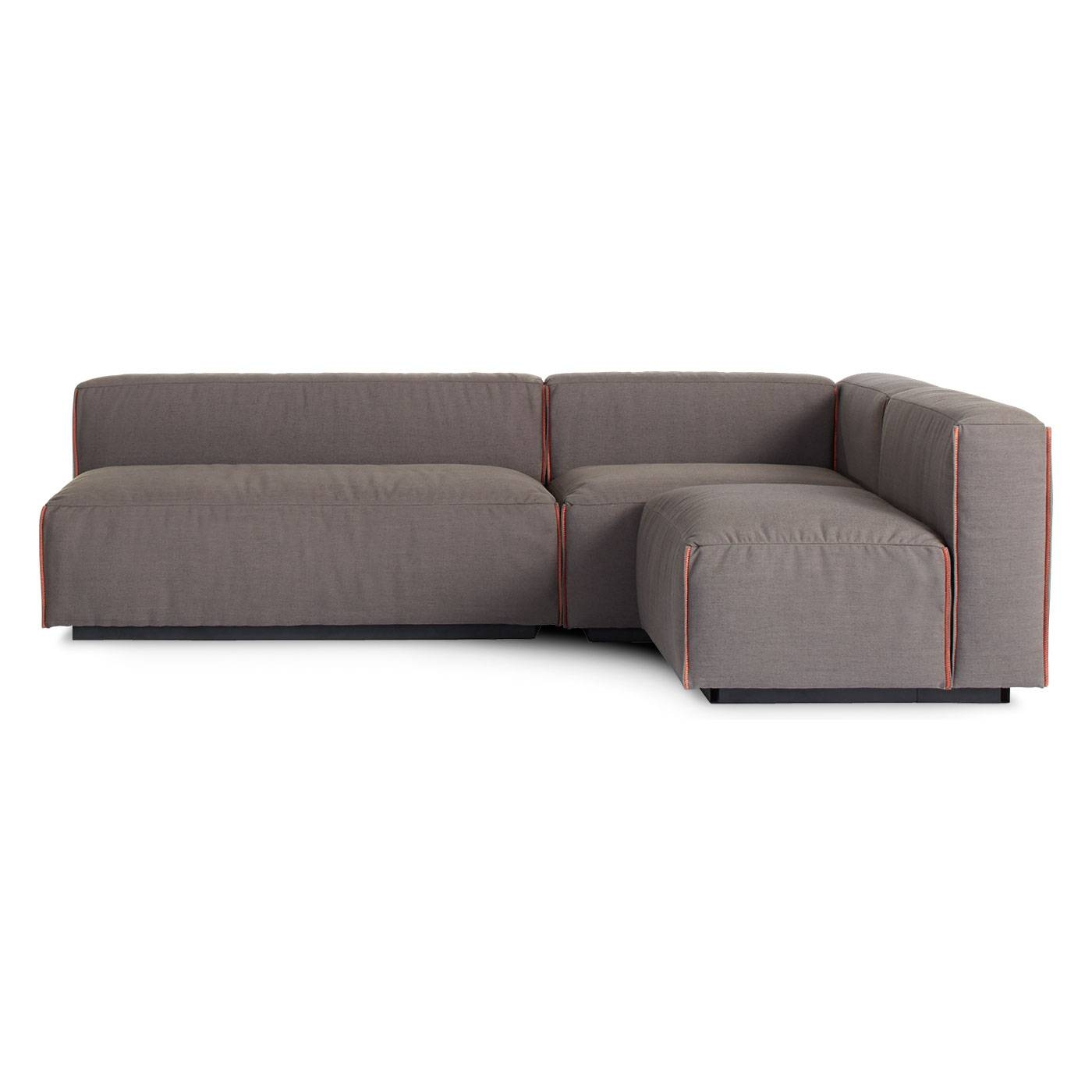 Cleon Medium Sectional - Armless Sectional | Blu Dot with regard to Armless Sectional Sofa (Image 5 of 30)