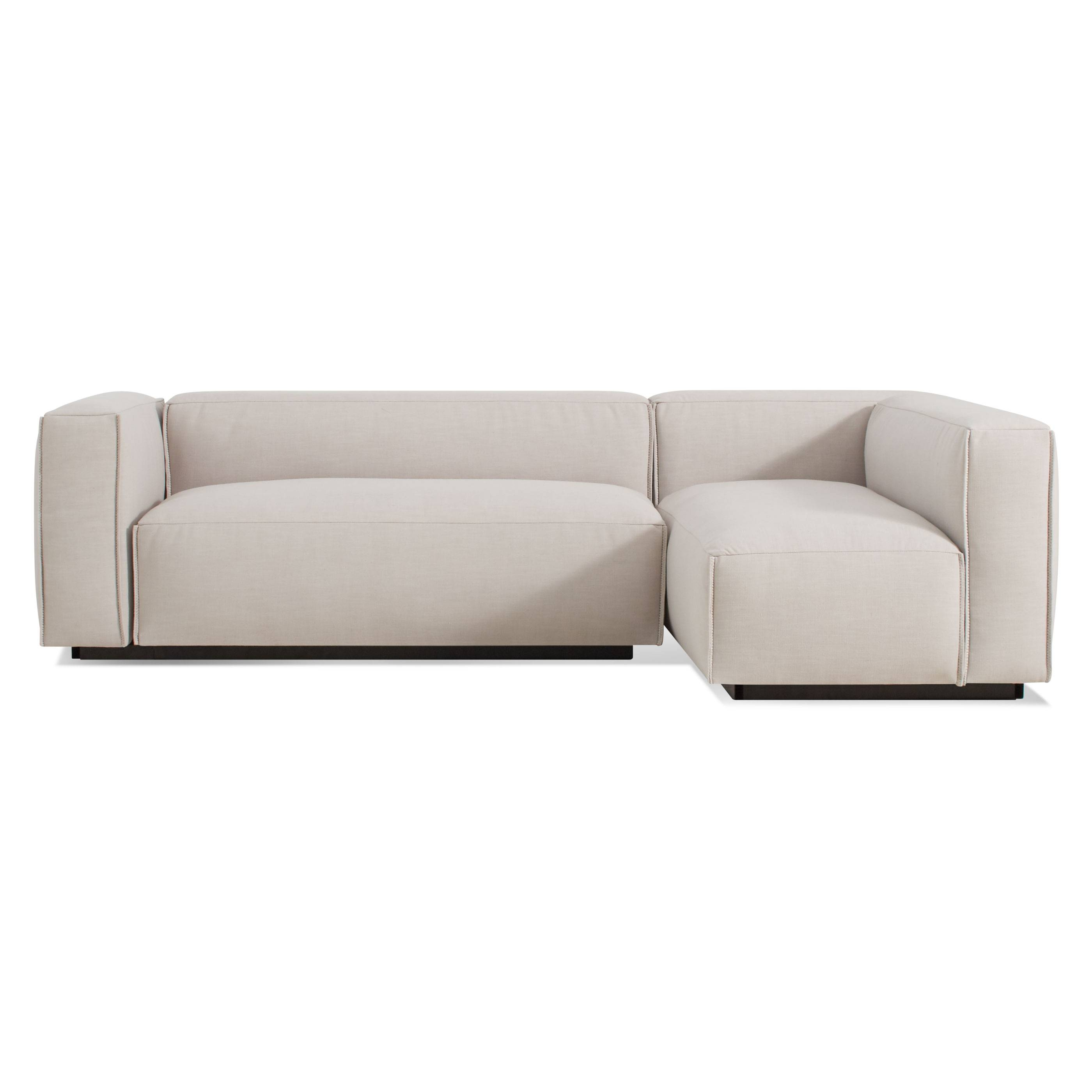 Cleon Small Modern Sectional Sofa | Blu Dot inside Mini Sectional Sofas (Image 4 of 30)